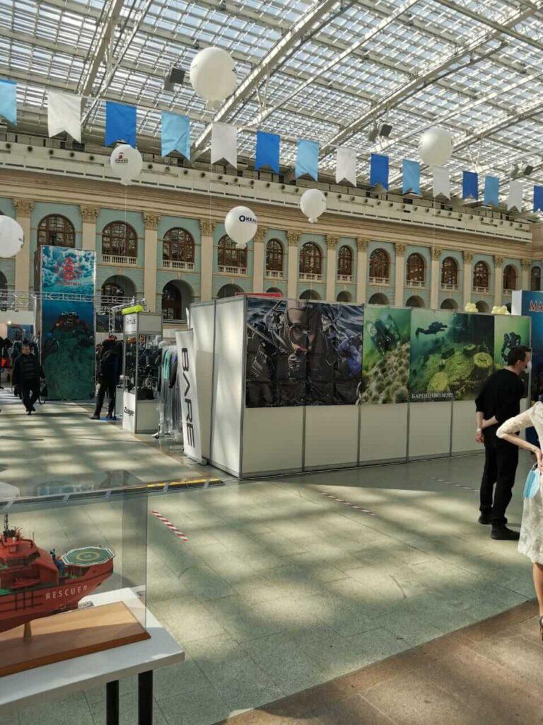 Северная Водолазная Компания - Moscow Dive Show -2