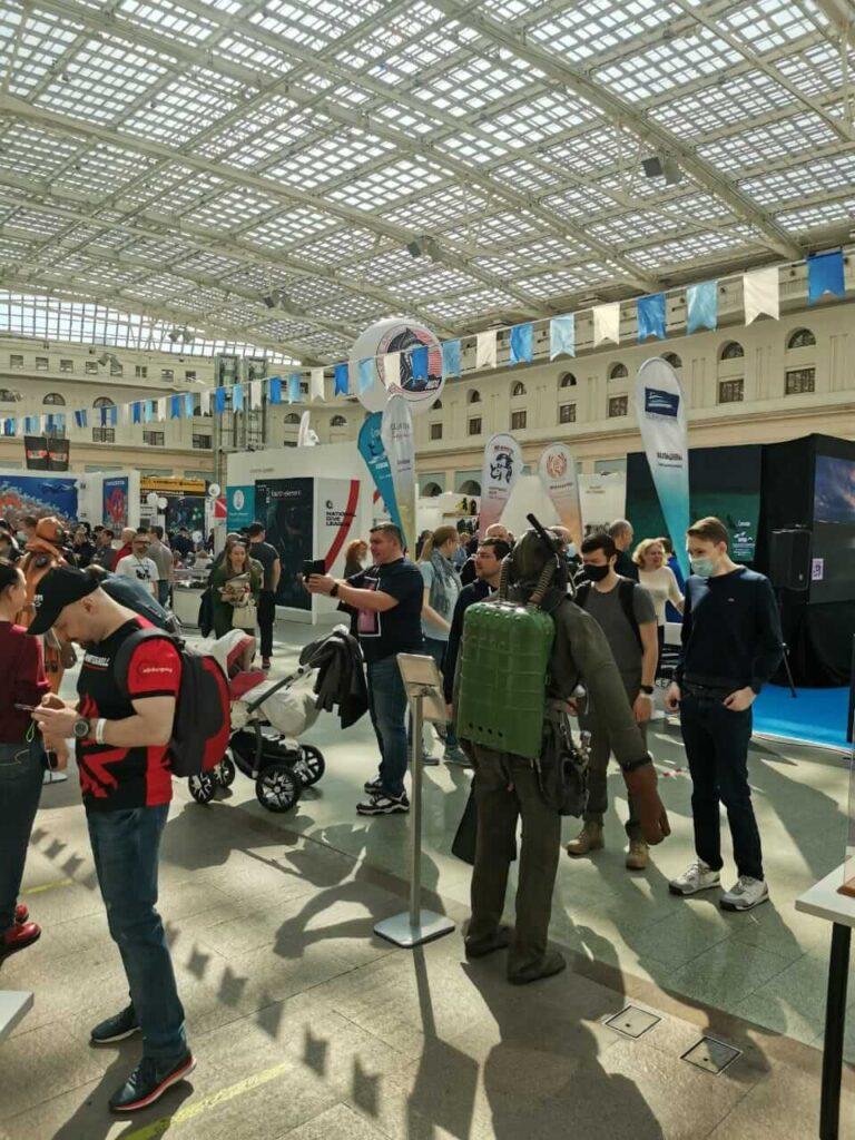 Северная Водолазная Компания - Moscow Dive Show -3