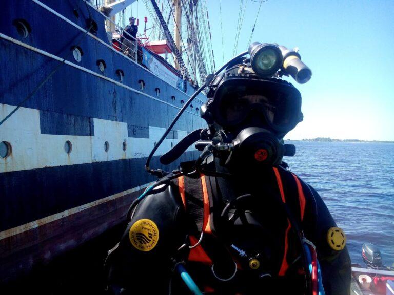 подводно-технические водолазные работы - СВК